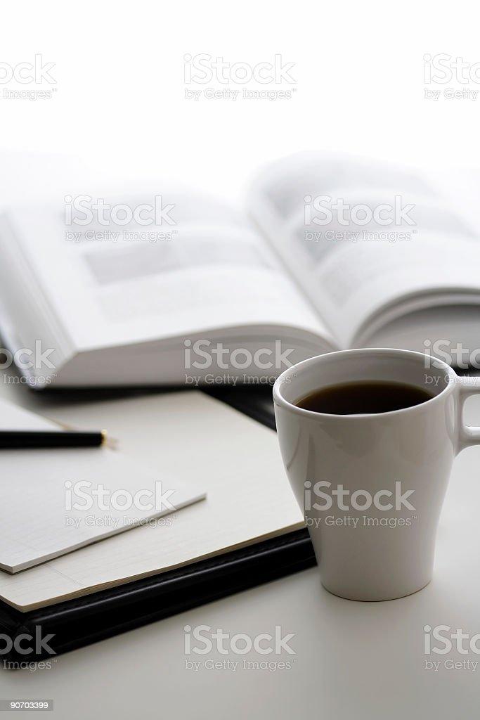 Morning work royalty-free stock photo