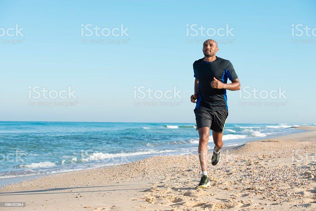 Morning workout.. stock photo