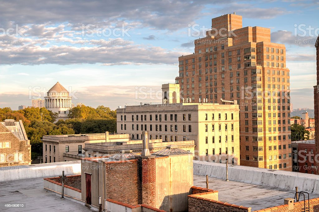 Morningside Heights Morning - New York City stock photo