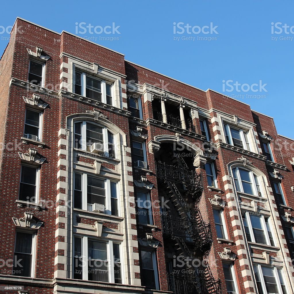 Morningside Heights stock photo