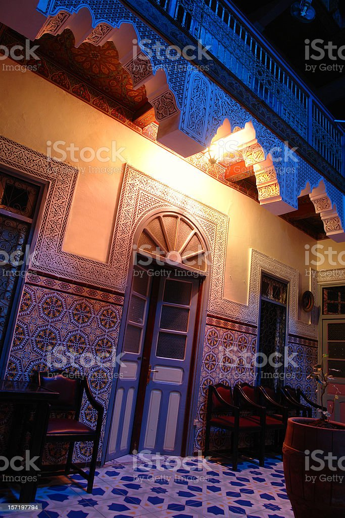 Moroccan Architecture royalty-free stock photo