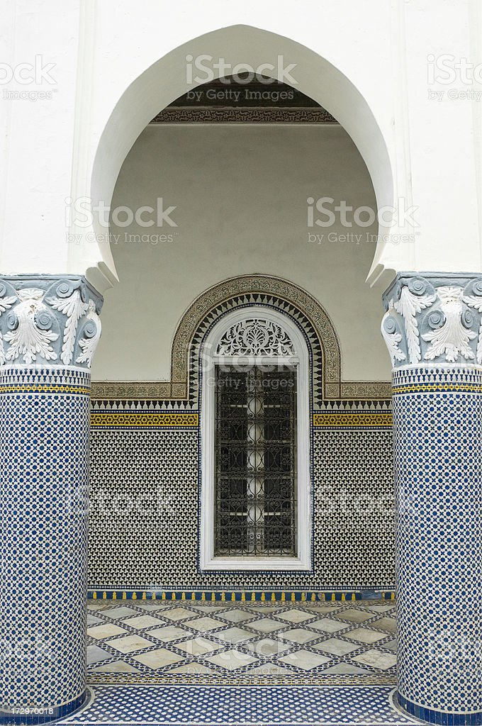 Moroccan Archway royalty-free stock photo