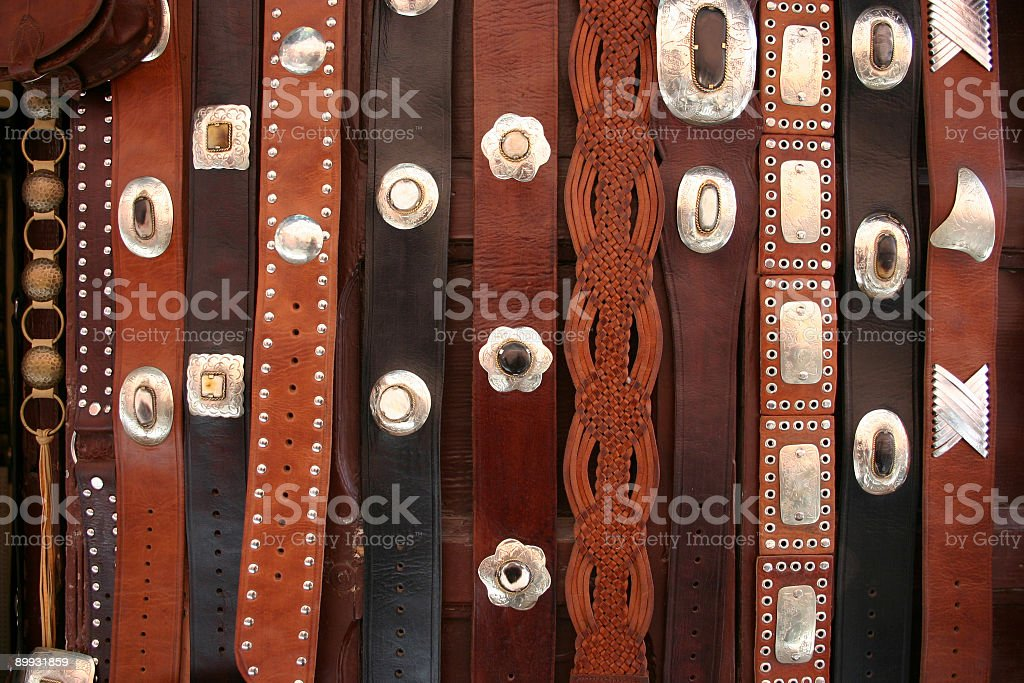 Moroccan Belts royalty-free stock photo