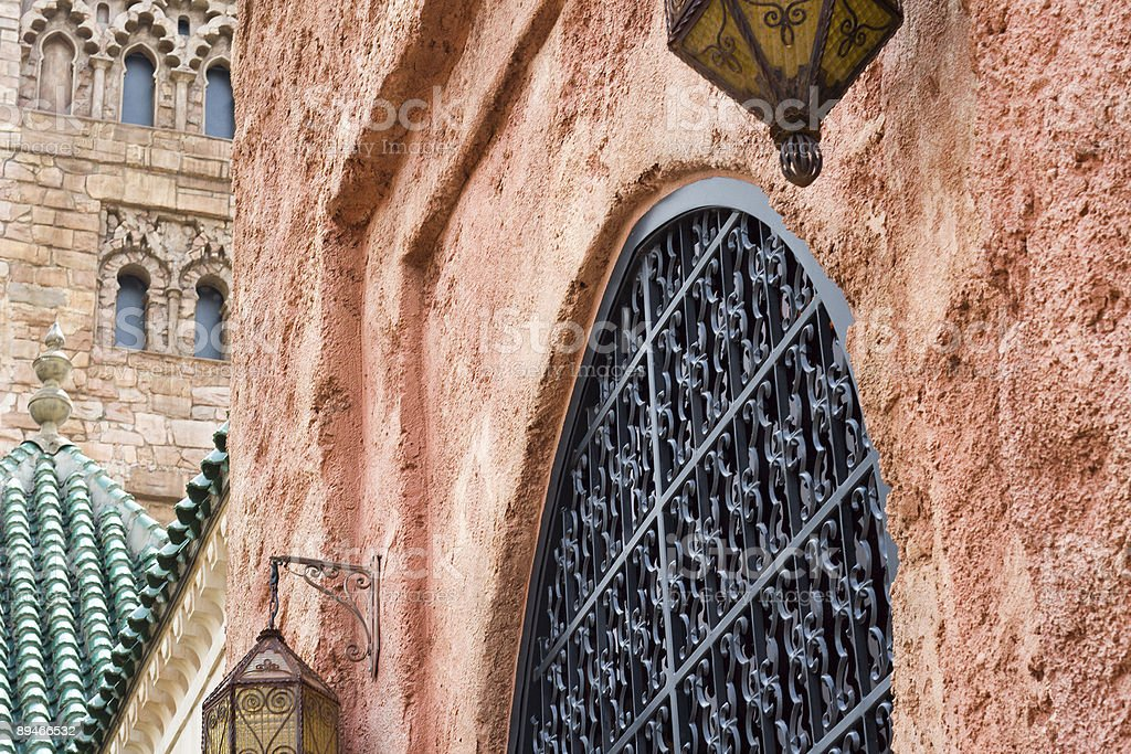 Moroccan Buildings royalty-free stock photo