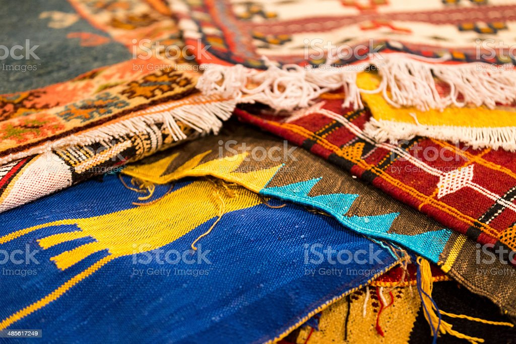 Moroccan Carpets royalty-free stock photo