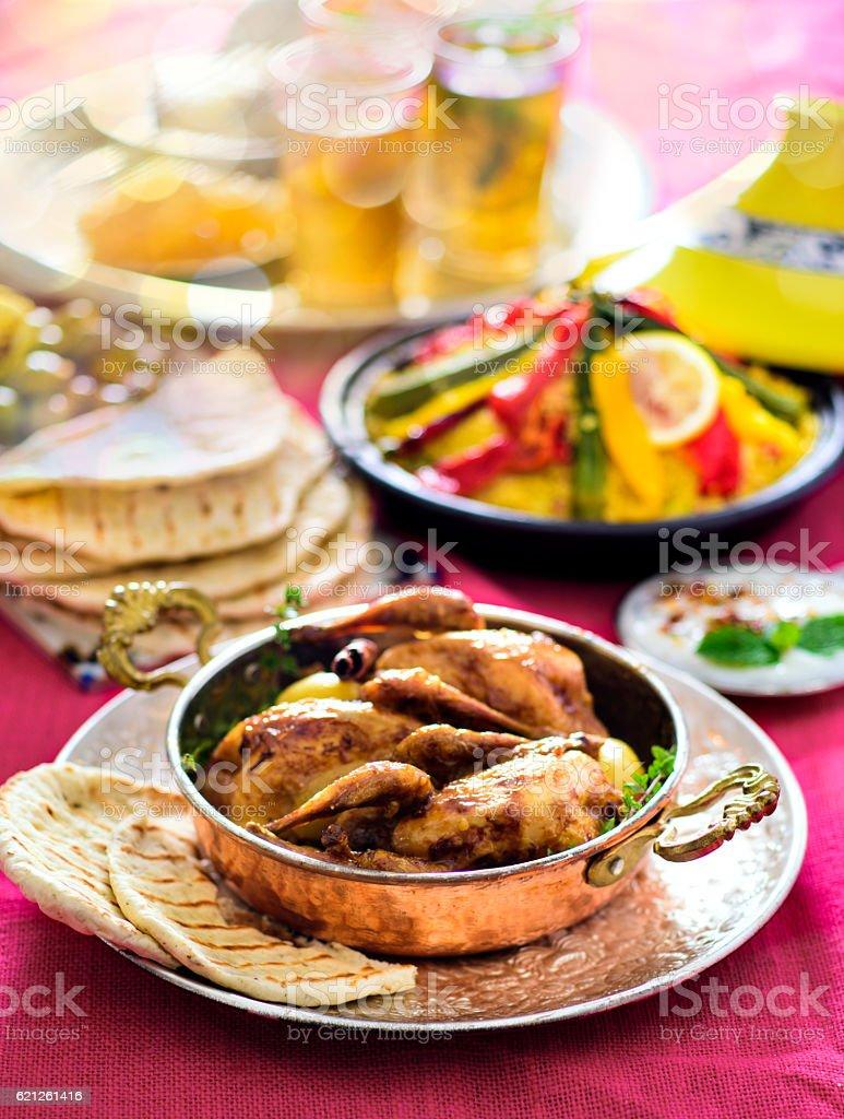 Moroccan Cuisine stock photo