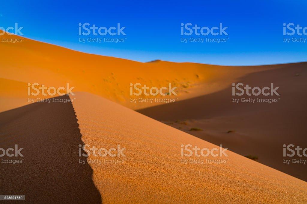 Moroccan dune royalty-free stock photo