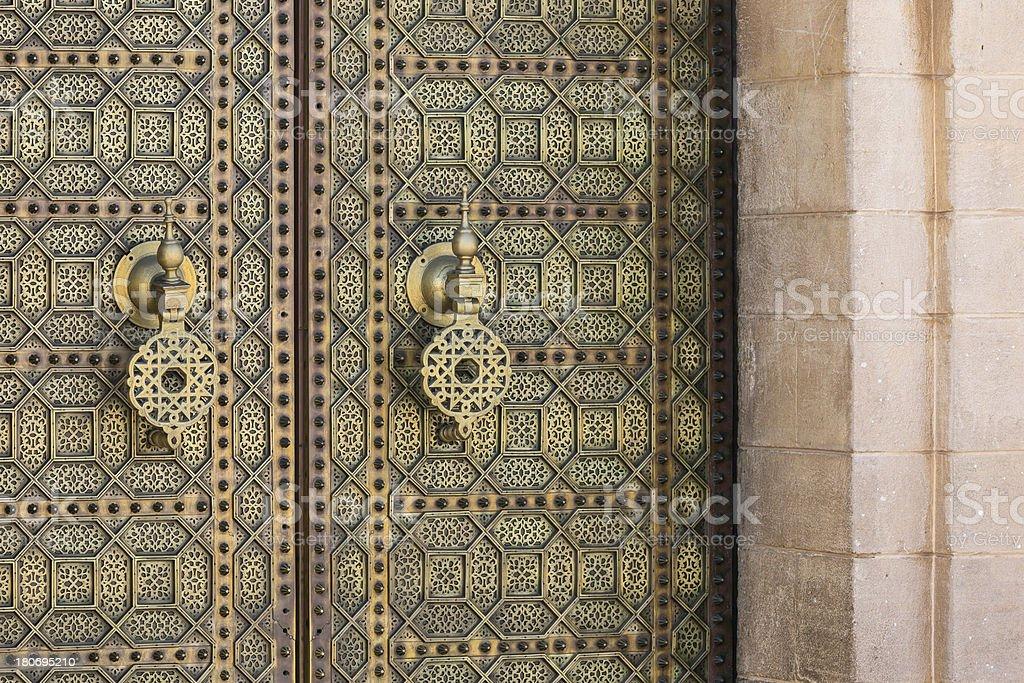 Moroccan entrance royalty-free stock photo
