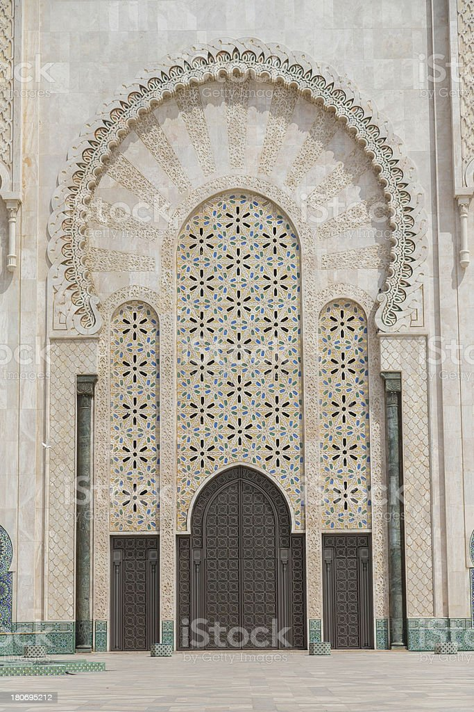 doorway of Moroccan Mosquesee my