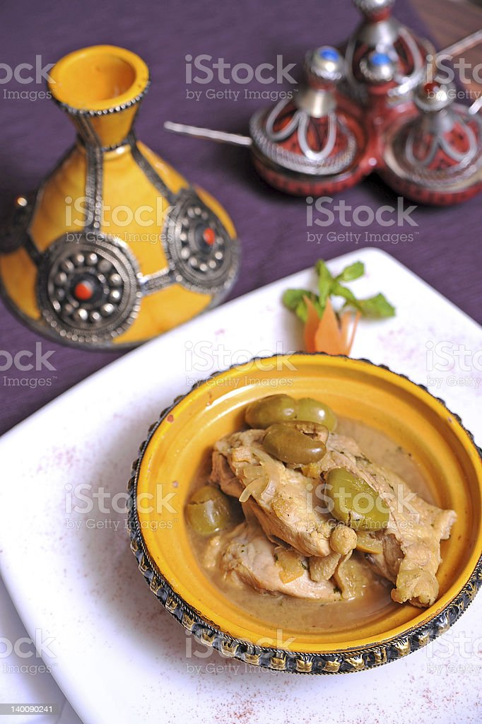 Moroccan food royalty-free stock photo