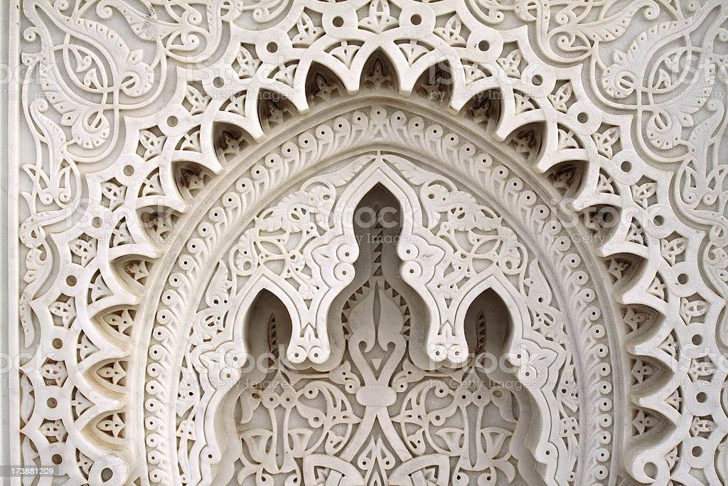 Moroccan geometries stock photo