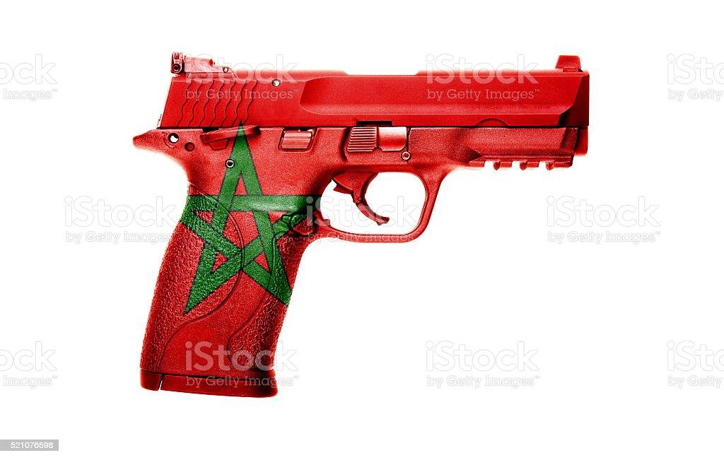 Moroccan gun stock photo