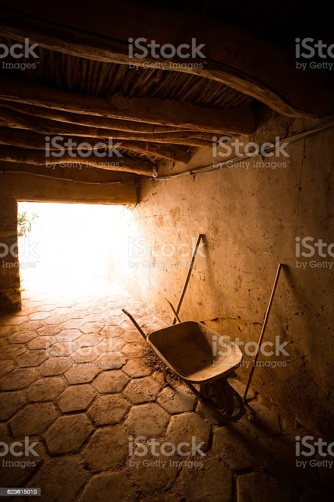 Moroccan houses stock photo