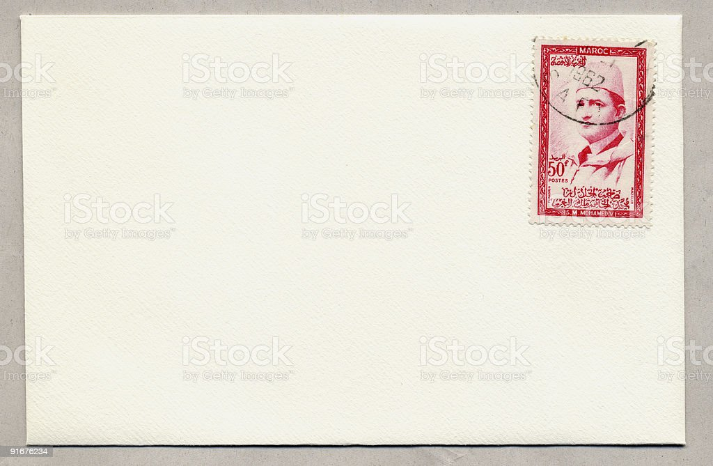 Moroccan Mail. royalty-free stock photo