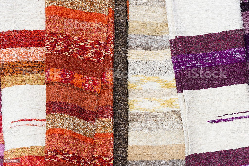 Moroccan Mats stock photo