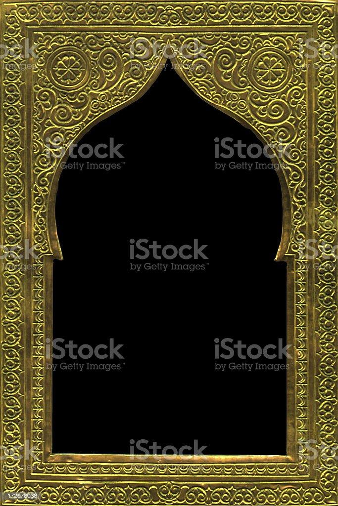 Moroccan Mirror royalty-free stock photo