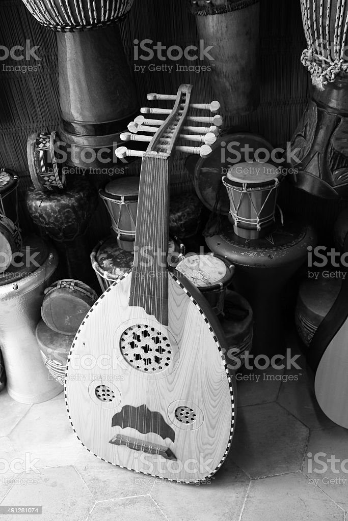 Moroccan Oud stock photo