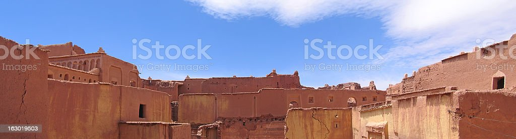 Moroccan palace stock photo