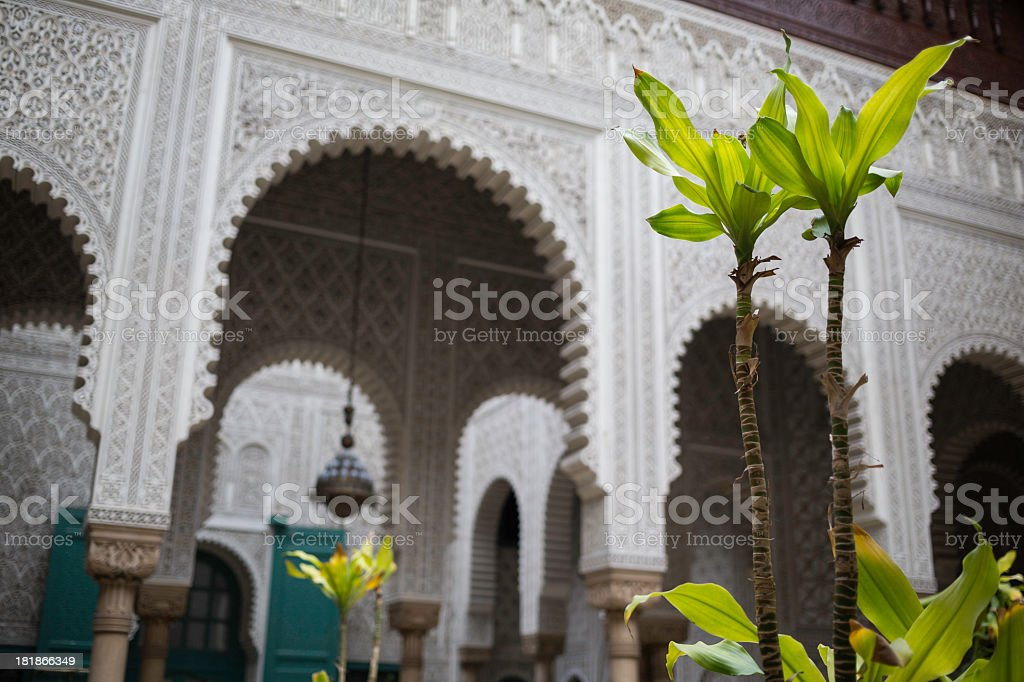 Moroccan palace royalty-free stock photo