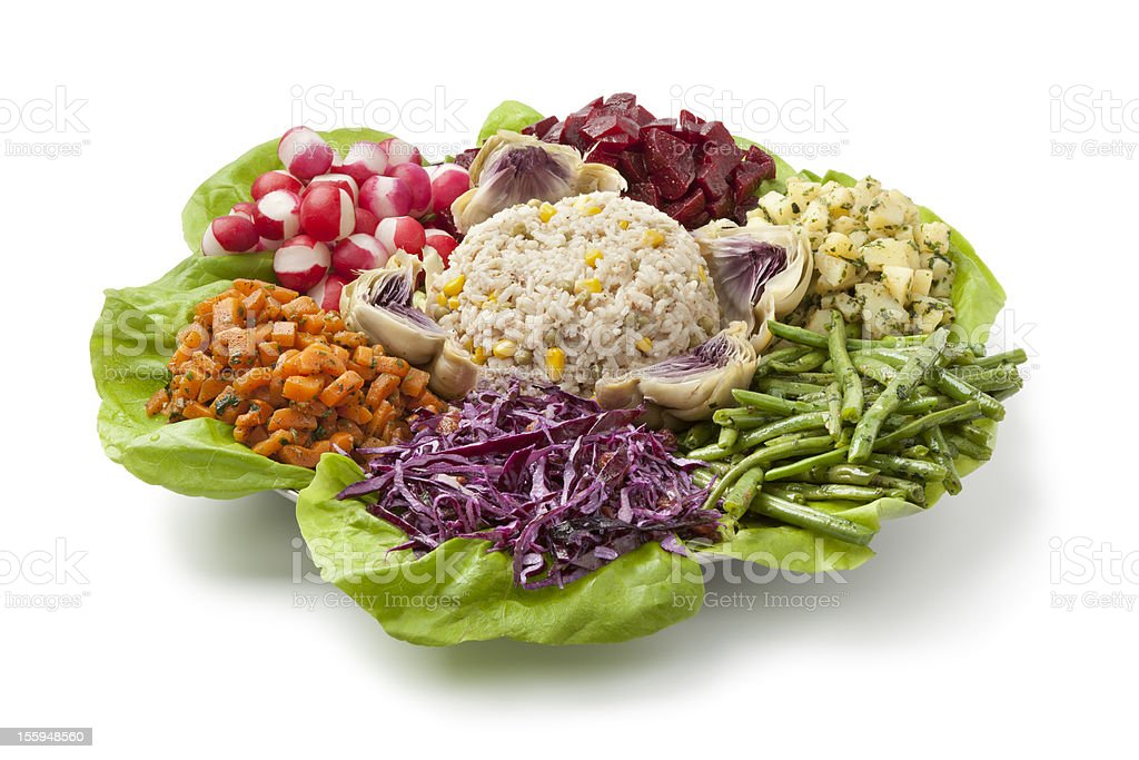 Moroccan party salad royalty-free stock photo