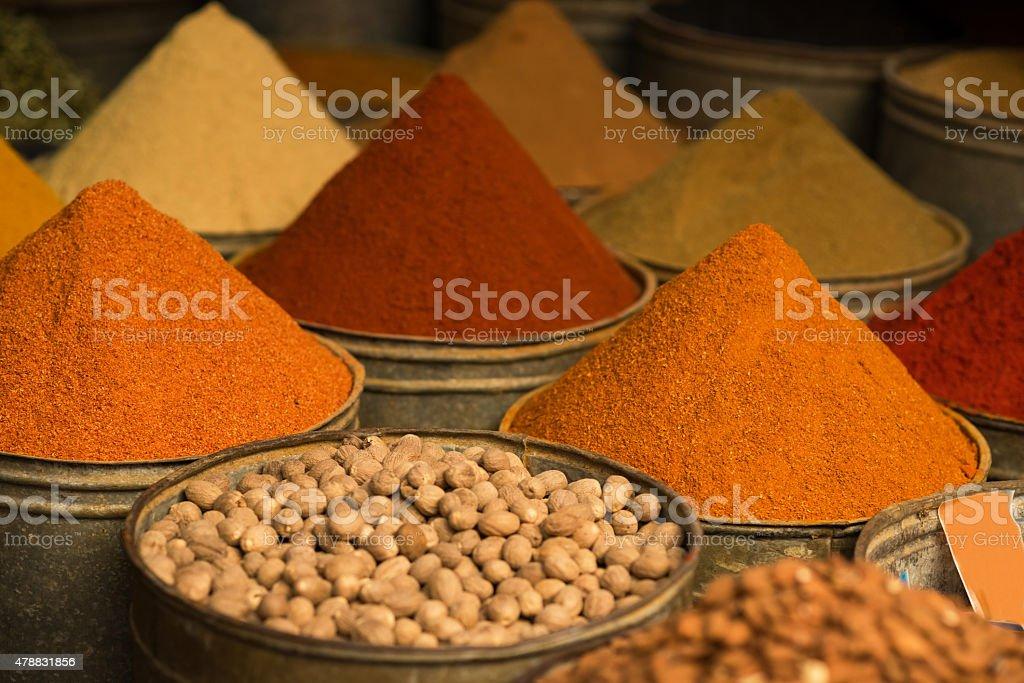 moroccan spice market in the medina stock photo 478831856 | istock