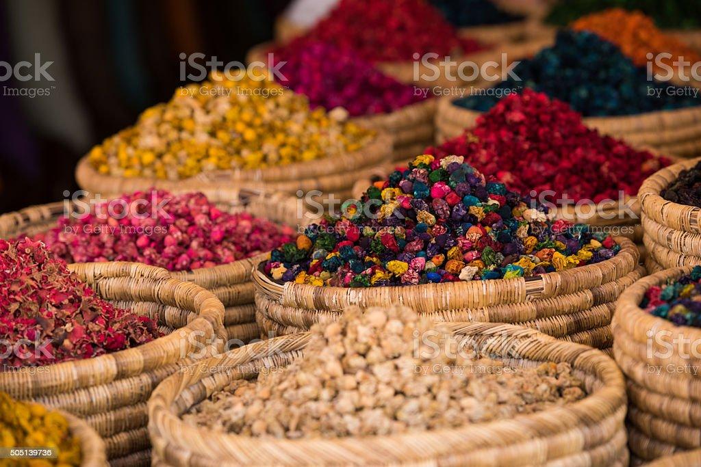 moroccan spice market in the medina stock photo 505139736 | istock