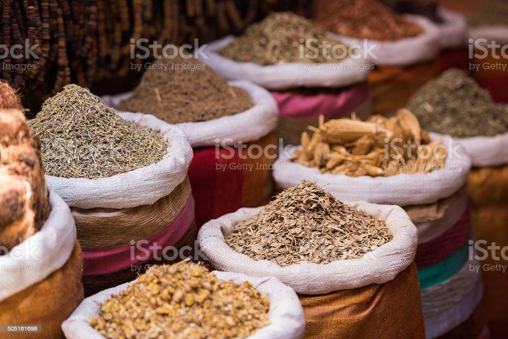 moroccan spice market in the medina stock photo 505161698 | istock