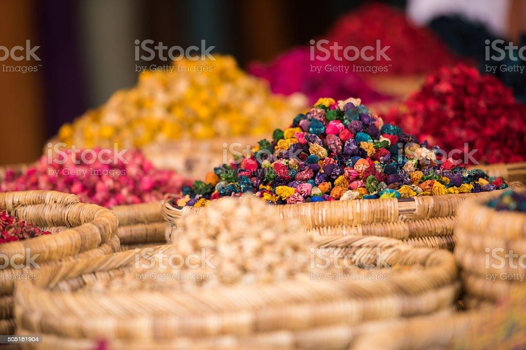 moroccan spice market in the medina stock photo 505161904 | istock