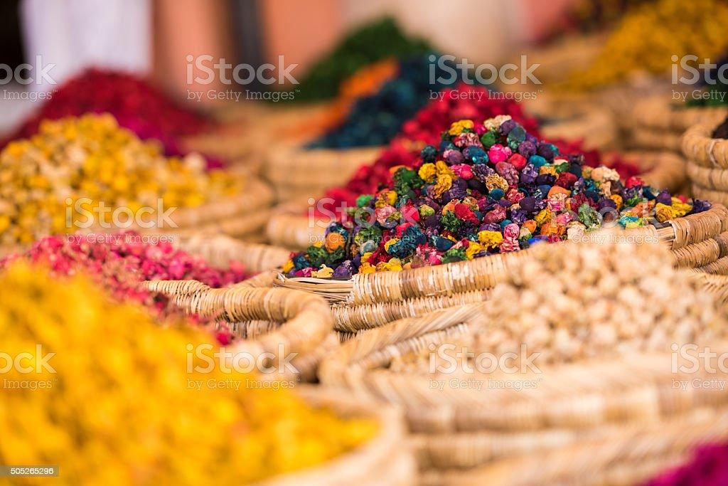 moroccan spice market in the medina stock photo 505265296 | istock