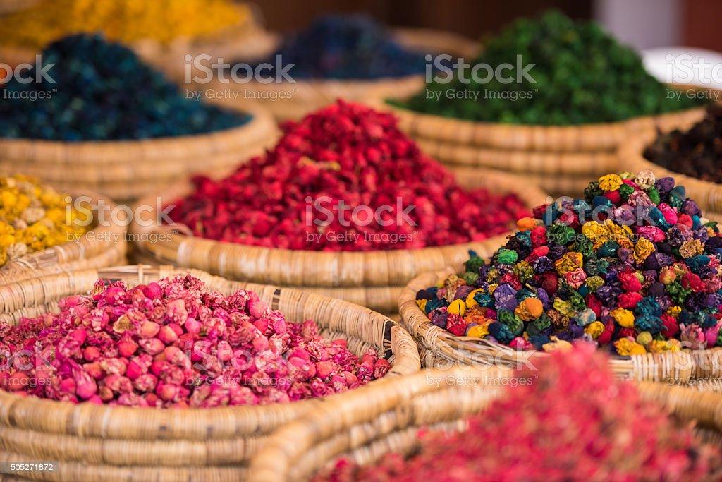 moroccan spice market in the medina stock photo 505271872 | istock