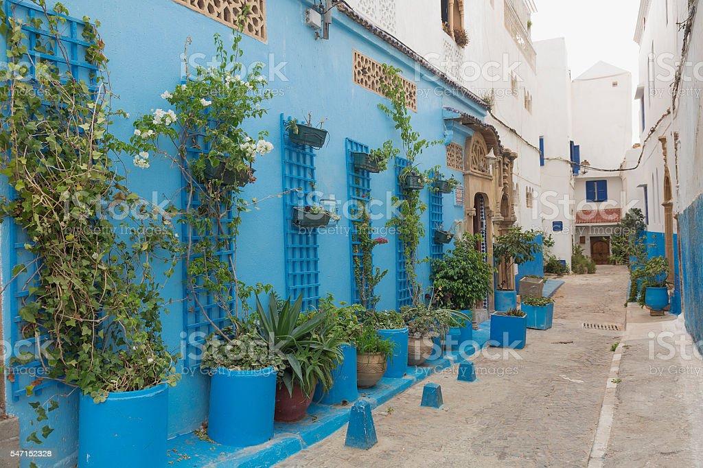 Moroccan street stock photo