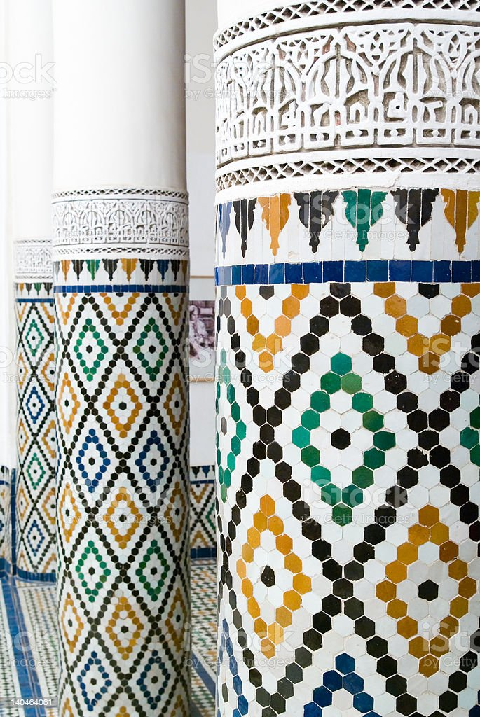 Moroccan style royalty-free stock photo