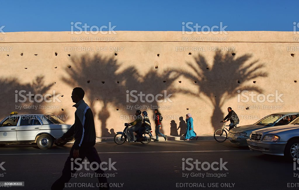Moroccan's stock photo