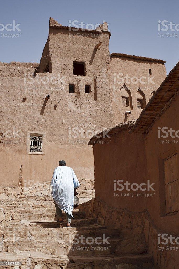 Morocco Ait Benhaddou Desert Kasbah Sahara Ouarzazate stock photo