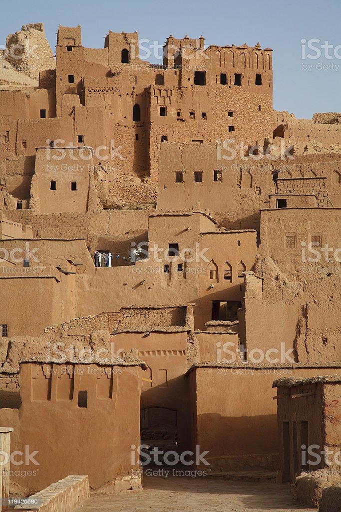Morocco Ait Benhaddou Ouarzazate Sahara Desert stock photo