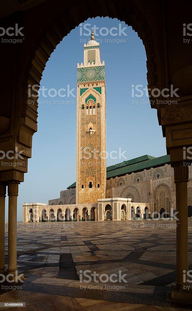 Morocco, Casablanca, Hassan II Mosque stock photo