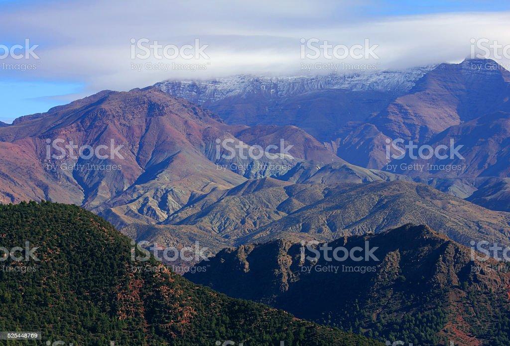 Morocco, High Atlas Mountains stock photo
