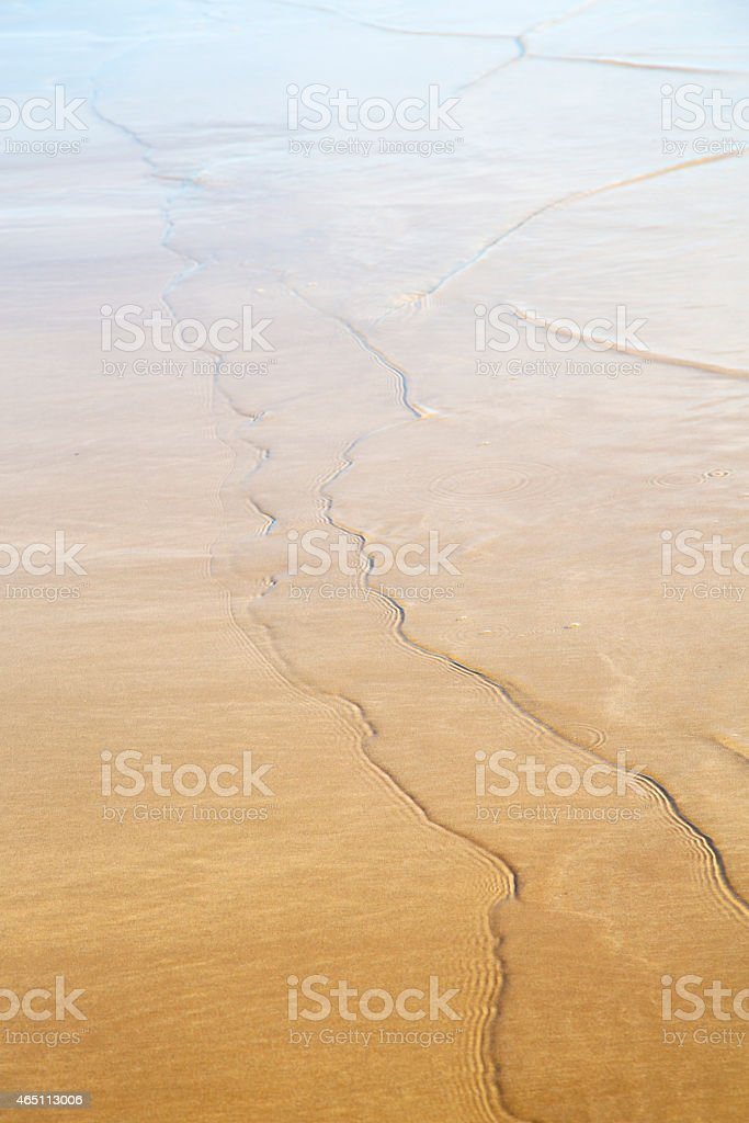 morocco in africa brown blue stock photo