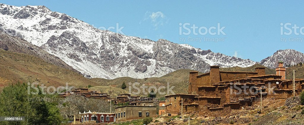 Morocco mountains stock photo