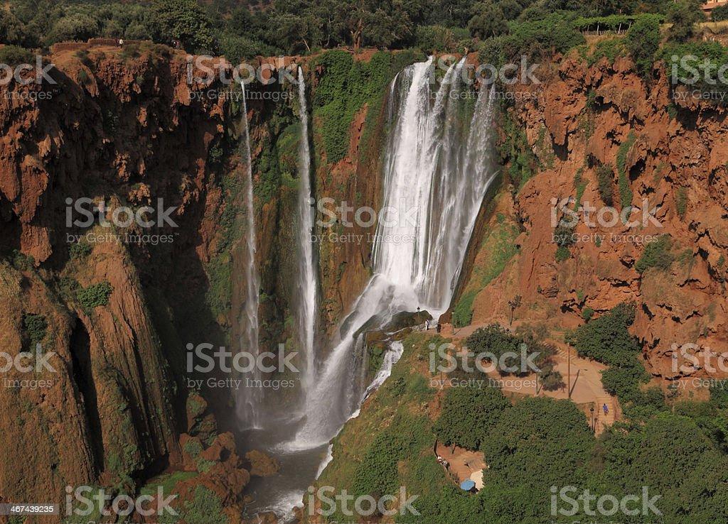 Morocco Ouzoud Waterfalls stock photo