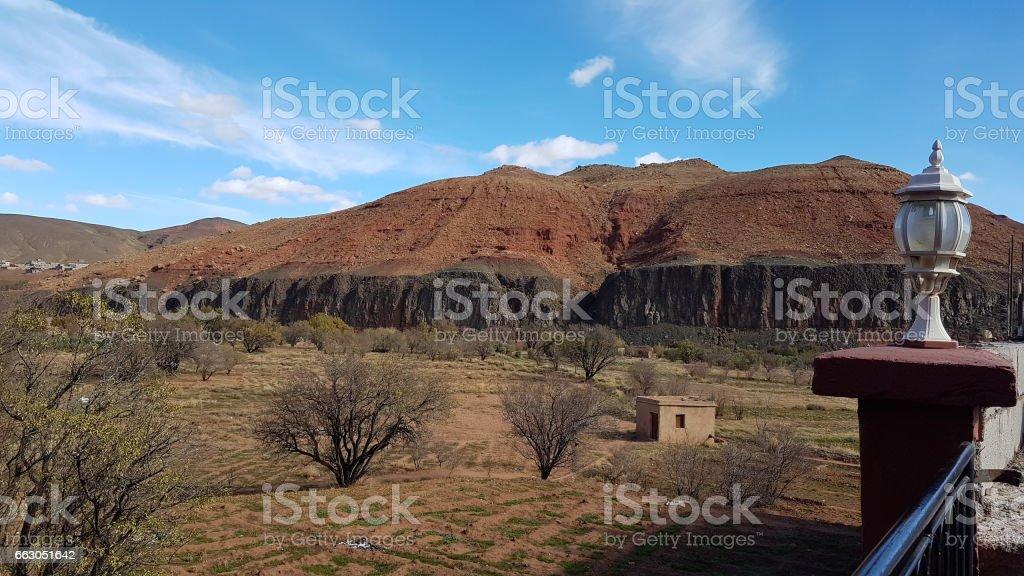 Morocco - South , Road marrakesh to ait benhaddou stock photo