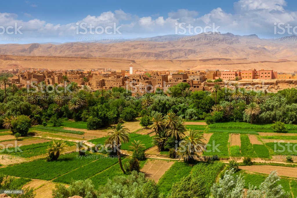 Morocco Todra Valley stock photo