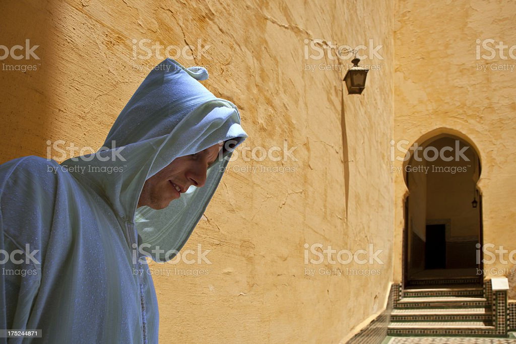 Morocco - Tomb of Moulay Ismail royalty-free stock photo