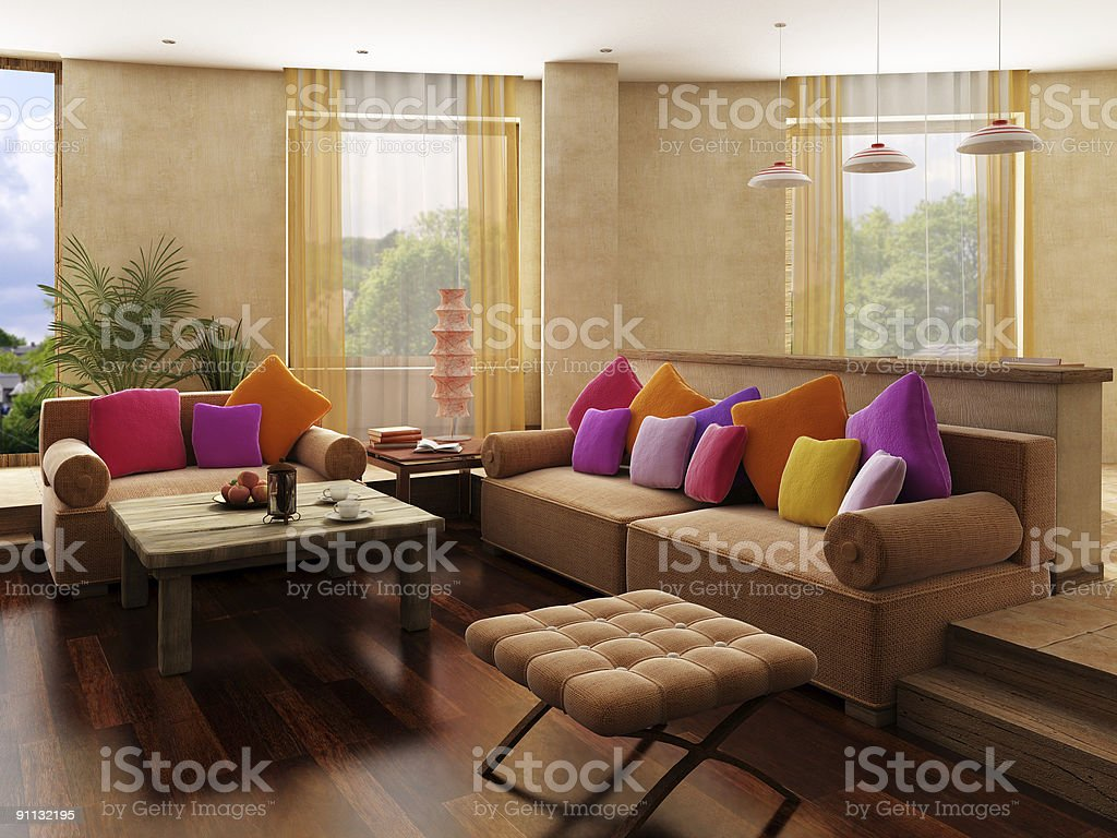 Morocco's style interior stock photo