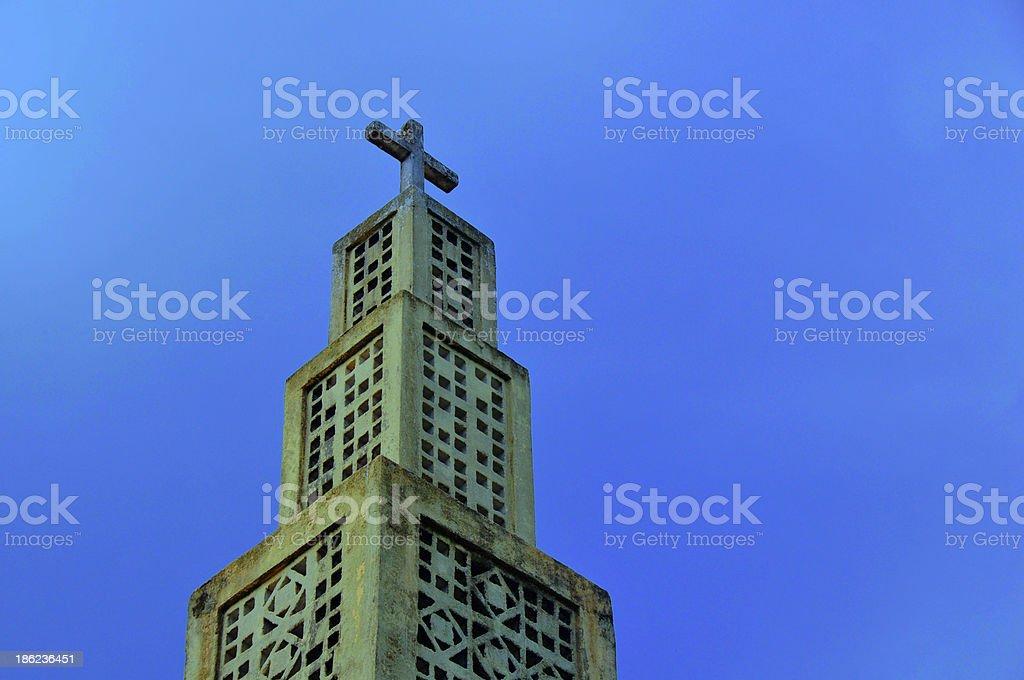 Moroni, Comoros islands: Church of Sainte Th?r?se stock photo