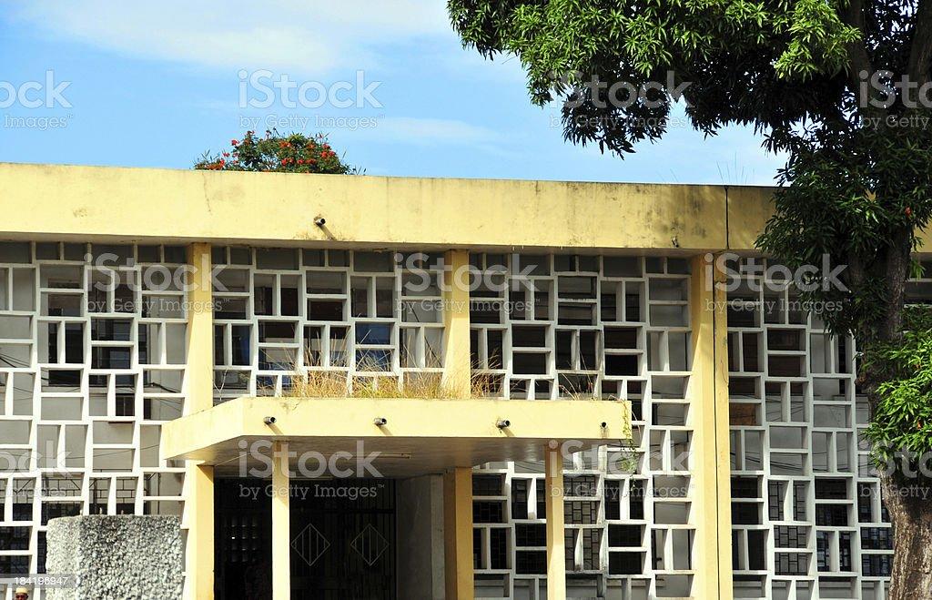 Moroni, Comoros: Ministry of the Interior stock photo