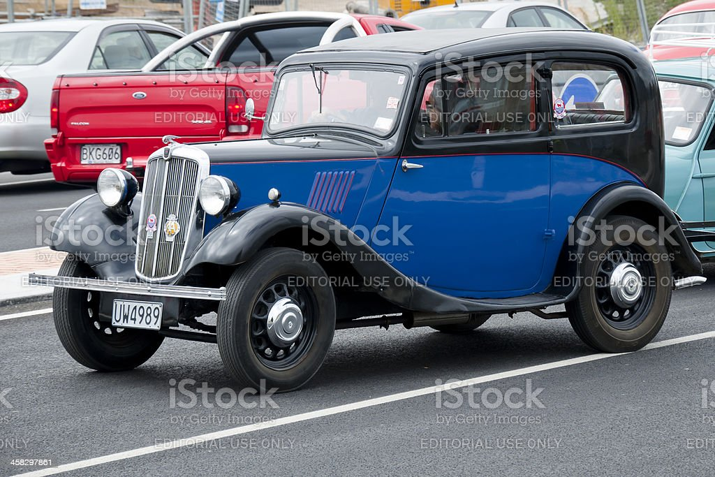 Morris 8 from 1938 royalty-free stock photo