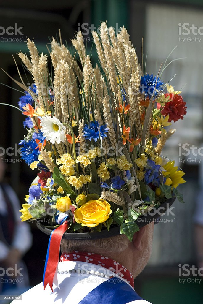 Morris Dancer's Hat royalty-free stock photo