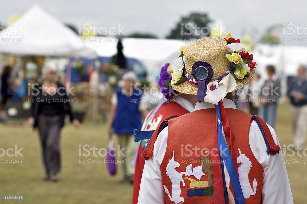 Morris Dancers royalty-free stock photo