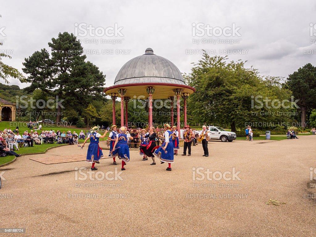 Morris Dancers stock photo